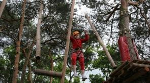 Park linowy w Stegnie